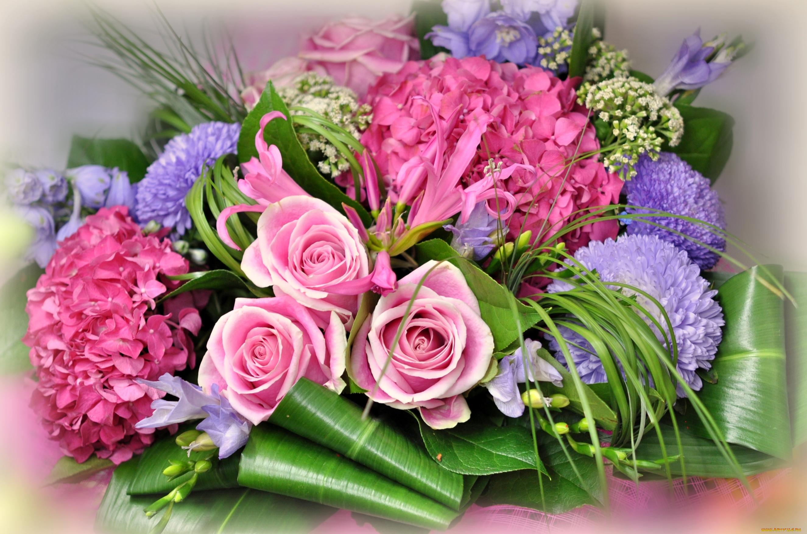 Букеты цветов фото красивые открытки